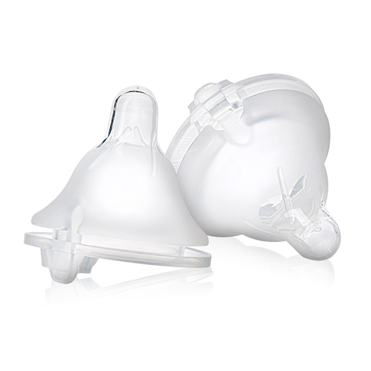 Balance Wide Neck Baby Bottle Nipples