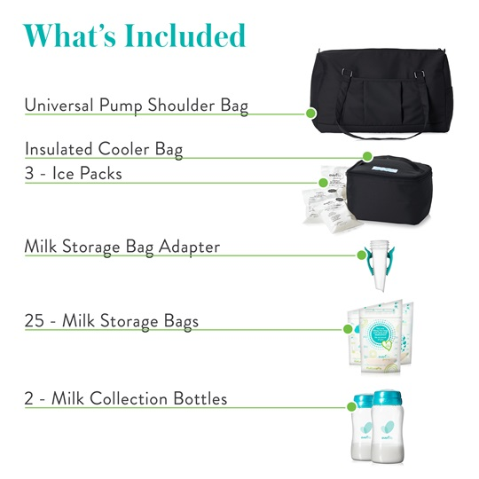 Evenflo Breast Pump Accessories Kit Whats Included