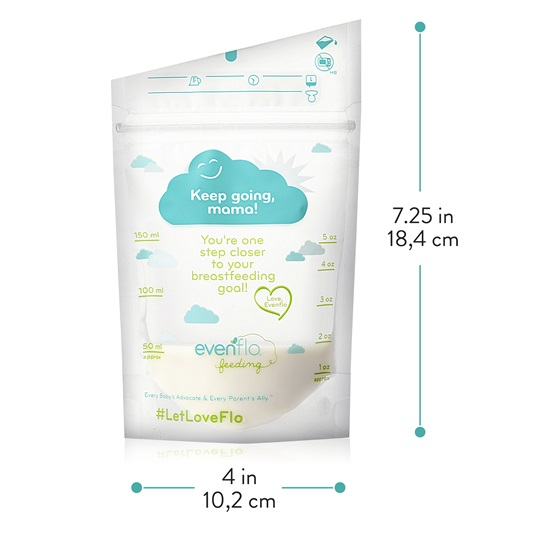 Breast Milk Storage Bag Dimensions