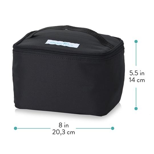 Insulated Cooler Bag Accessory Kit - Dimensions